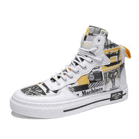 Designer Printed Casual Sneakers For Men