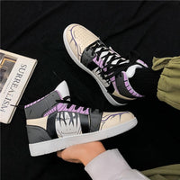 Naruto Animated Hip Hop Sneakers For Men