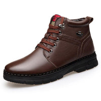 Brown Genuine Leather Shoes For Men