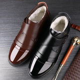 Genuine Leather Chelsea Shoes For Men
