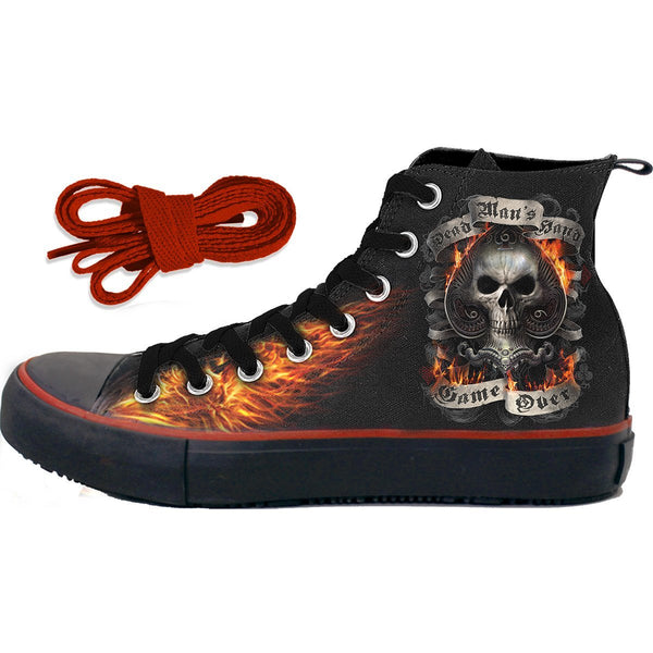 Limited Edition Grim Reaper Sneakers-Shoes & Socks-radekus