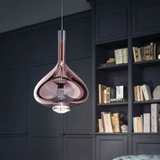 Italia Design Tear Drop Pendant Light For Bar Kitchen