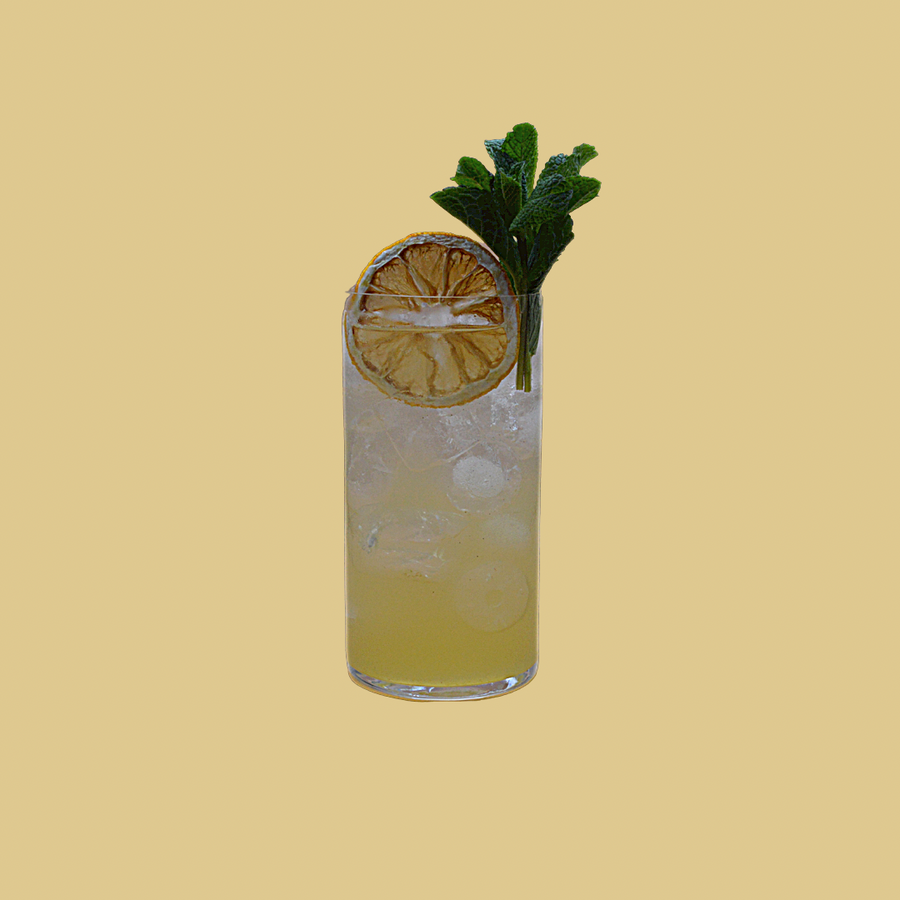Peach and Elderflower Collins - 50cl PostBox Pouch
