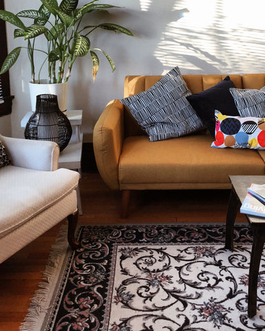 Living Room Rug Placement for Luxury Rugs