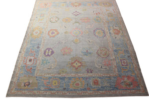 8x10 New Oushak Turkish Oriental Area Rug