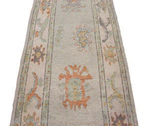 3x12 New Ousak Turkish Oriental Area Rug