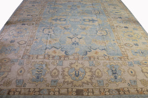 13x16 New Oushak Turkish Oriental Area Rug