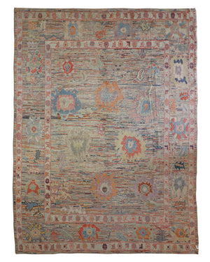 10x13 New Oushak Turkey Oriental Area Rug