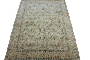 8x10 New Tabriz Indian Oriental Area Rug