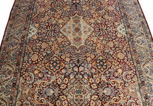 5x10 Antique 1920 Kerman Persian Oriental Area Rug