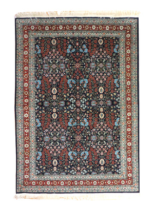 5x8 Vintage Hereke Turkish Oriental Area Rug
