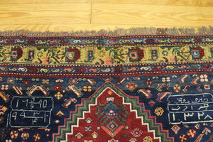 6x9 Antique Caucasian Oriental Area Rug