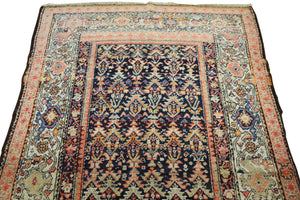 4x7 Antique Malayer Persian Oriental Area Rug