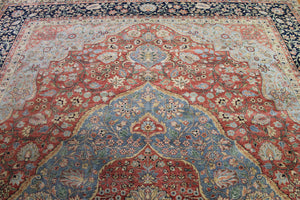9x12 New Kashan Indian Oriental Area Rug