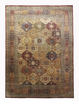 9x12 New Fine Mahal Persian Oriental Area Rug