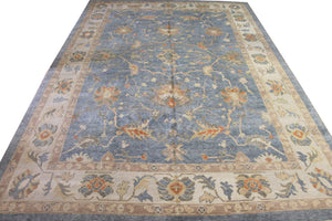 10x15 New Oushak Turkish Oriental Area Rug