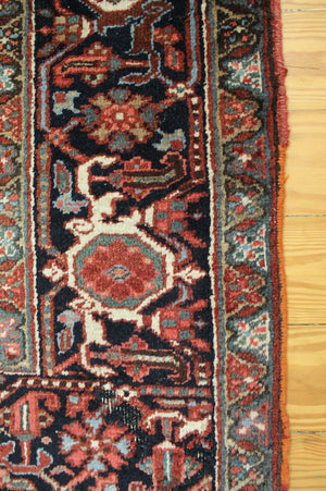 6x9 Antique Heriz Persian Oriental Area Rug