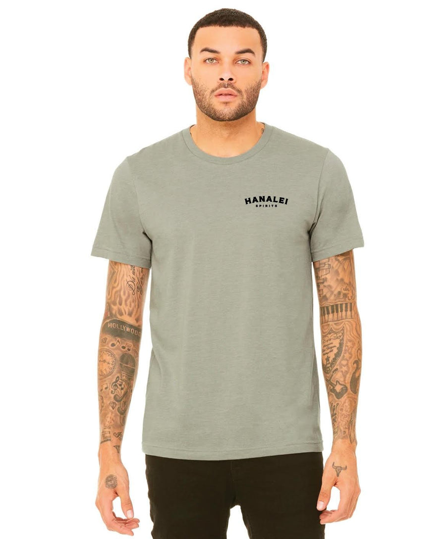 Hanalei Spirits Heather Tee