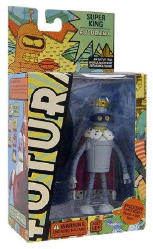 Futurama Super King Bender Action Figure