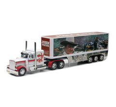 1/32 Scale Peterbilt 379 John Wayne Cowboy Tractor Trailer Model