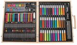 Arty Facts Premium Art Set in Wooden Case - 131 pieces