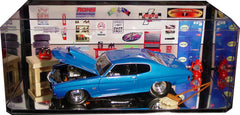 Display Case with Mirror Bottom for 1/18 Scale Cars