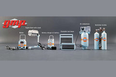GMP 1/18 Scale Diecast Metal Gulf Garage Shop Tool Set