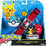 Pokemon Clip N Carry Poke Ball Belt with Pikachu