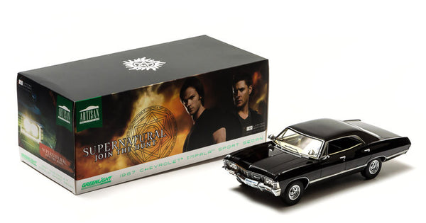 Supernatural 1/18 Scale 1967 Chevrolet Impala Sport Sedan Diecast Model