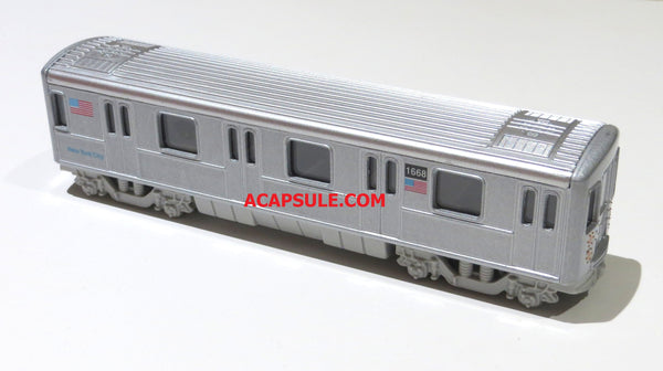 New York City Diecast Subway Pullback Toy 7 Inches Long