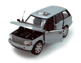 Silver Land Rover Range Rover 1/24th Scale Diecast Model