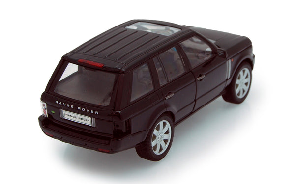 Black Land Rover Range Rover 1/24th Scale Diecast Model