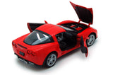 Red 2007 Chevy Corvette 1/24 Scale Diecast Model by Welly