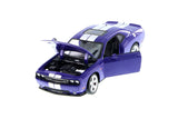 1/24 Purple 2013 Dodge Challenger SRT Diecast Model