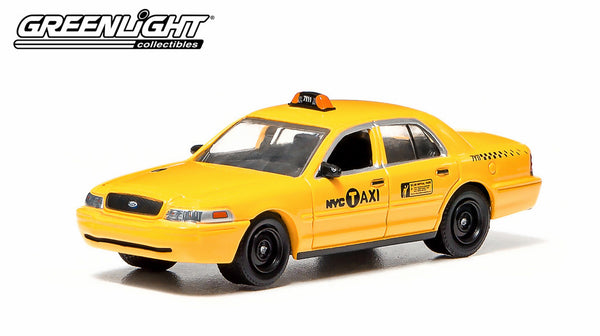 Greenlight NYC Taxi 2011 Ford Crown Victoria Medallion # 2x15 1/64 Diecast Car