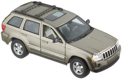 Maisto Khaki 2005 Jeep Grand Cherokee SUV 1/18 Scale Diecast Model Car