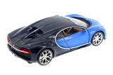 Bugatti Chiron Blue 1/24th Scale Diecast Model
