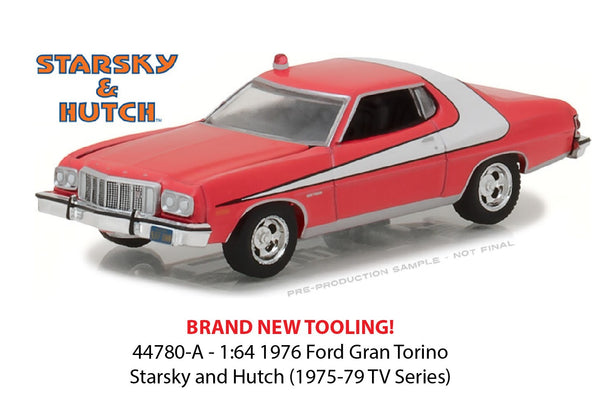 1976 Ford Gran Torino from TV Series Starsky & Hutch  1/64 Scale Diecast Car