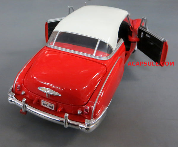 Red 1950 Chevrolet Bel Air 1/24 Scale Diecast Model