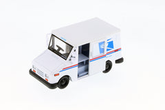 Kinsmart United States Postal Service Grumman LLV 1/36 Scale Toy Truck with Pullback Action in Window Box