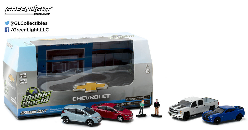 Motorworld Modern Chevrolet Dealership Set includes 4 1/64 ...