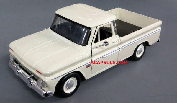 Tan 1966 Chevrolet C10 Fleetside Pick Up 1/24 Scale Diecast Model