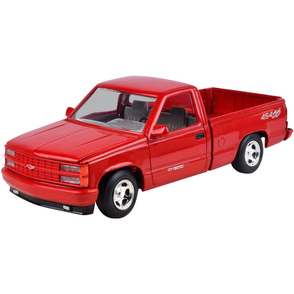1/24 Scale 1992 Red Chevrolet 454 SS Pick Up Diecast Model