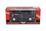 1934 Black Ford Coupe 1/24 Scale Diecast Model