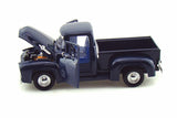 1/24 Scale 1956 Dark Blue Ford F-100 Pick Up Diecast Model