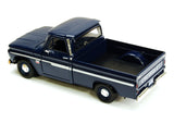Blue 1966 Chevrolet C10 Fleetside Pick Up 1/24 Scale Diecast Model