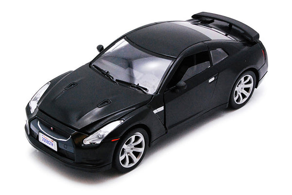 Black Nissan GT-R 1/24 Scale Diecast Model
