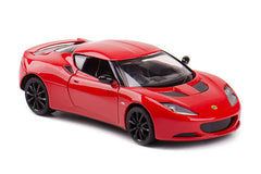 1/24 Scale Red Lotus Evora S Diecast Model