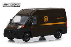 UPS 2018 Ram Promaster 2500 Cargo High Roof Van 1/43 Diecast Scale Model by Greenlight