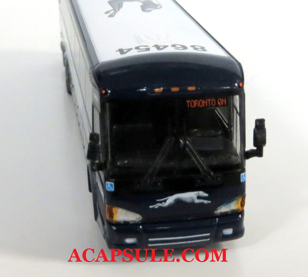 Greyhound 86454 to Toronto - 1/87 Scale MCI D4505 Motorcoach Diecast Model